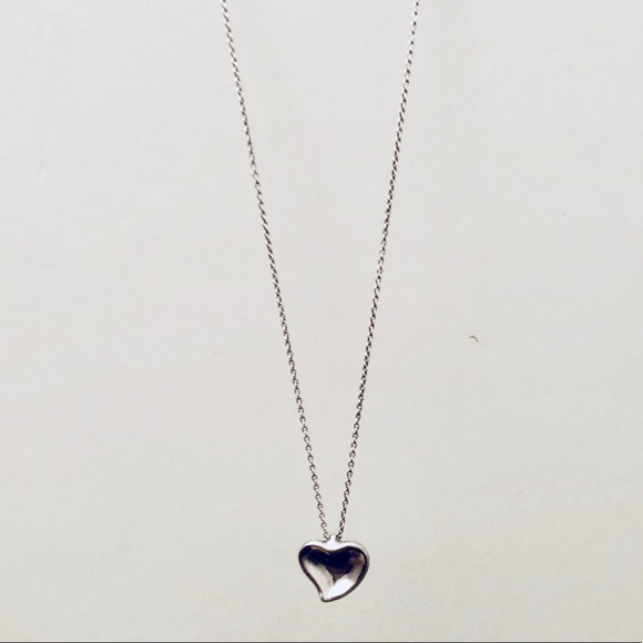 82892ba6922 Tiffany & Co. Jewelry | Tiffany Co Elsa Peretti Heart Necklace ...